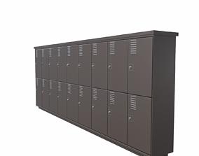 3D model Locker cabinet - 05