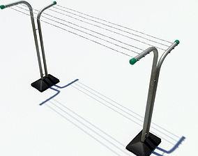 3D asset Drying rack