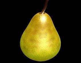 pear fruit 3D asset