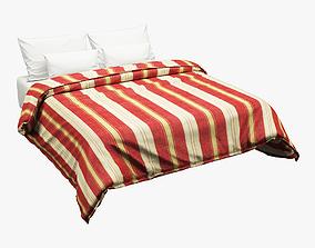 3D Bed Set 002