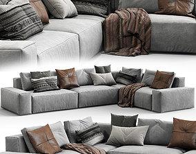 3D model Jesse sofa Daniel composition 6