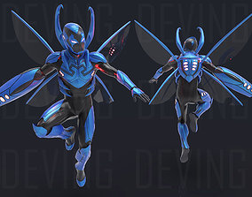 BLUE BEETLE ARMOR FOR COSPLAY 3D print model
