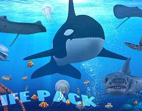 animated 3DRT - Sealife pack