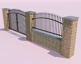 Forging Fence and Gate 3D model