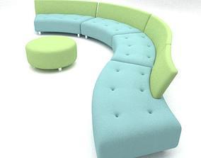 3D Questionmark sofa