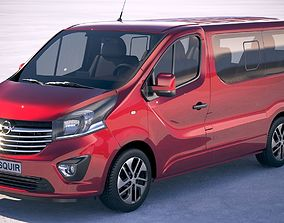 3D model Opel Vivaro Pass 2015-2018 4-door