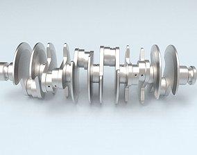 3D Printable Crankshaft