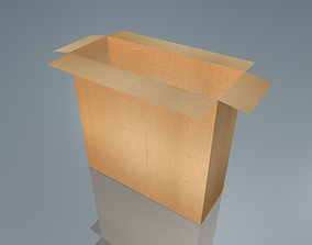 game-ready 3D CardBoard Box
