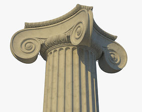 Ionic column corner e 3D model