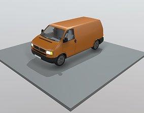 3D asset Transporter Van