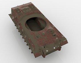 Rusting Tank wreckage 3D model
