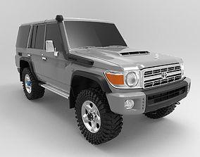 Toyota Land Cruiser Fj70 Series Wagon 3D printable model
