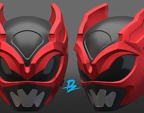 psycho ranger helmet 3D printable model