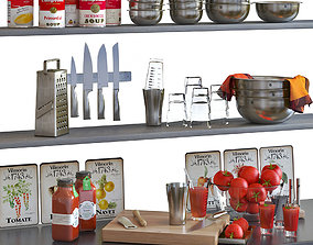 Cocktail Set WMF Loft Boston 3D pepper