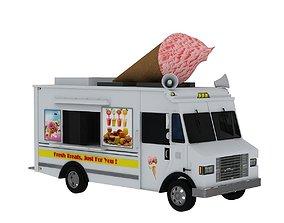 3D Ice Cream Truck 2