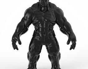 statuette of hulk 3D print model