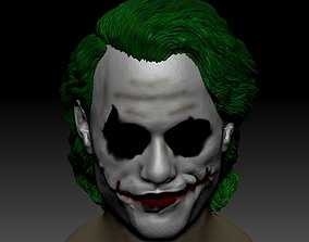 3D print model figurines Joker Heath Ledger head