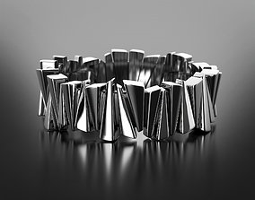 3D print model Ice needles ring