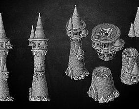 3D print model Heresylab - Fantasy Tower High Elves or 1
