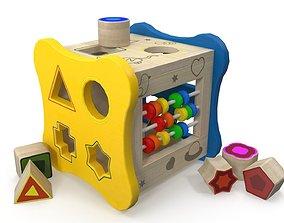 shape 3D model Childrens puzzle