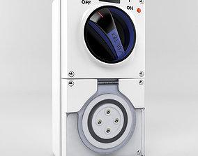 socket outlet switch 3D