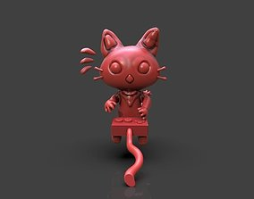 3D printable model Gamer Cat