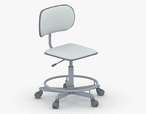 3D asset 0761 - Office Chair