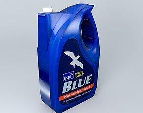 Caravan Motorhome Elsan Fluid Blue 3D