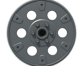 3D model Engine Flywheel 2