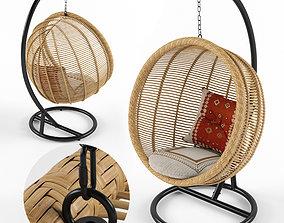 3D model Hampstead Hanging Nest Chair