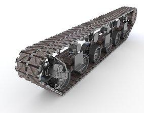 Tank tracks GMC M40 3D