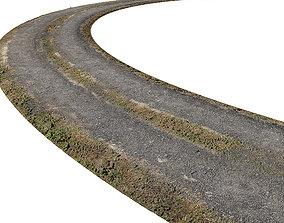 Ultra realistic Road Scan 3D model