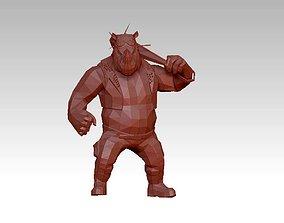 Troll monster 3D asset