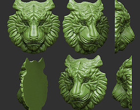 Tiger tigress 3D print model