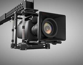 Camera and Jib 3D model