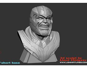 Thanos Bust - from Avengers 3D printable model