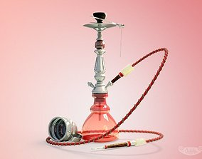 Hookah water 3D model