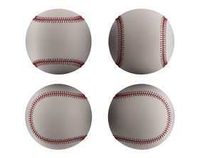Baseball Ball game 3D model