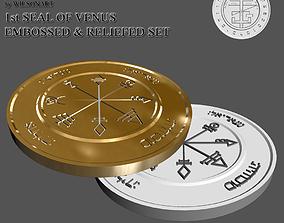 3D printable model saturn 1st Seal of Venus