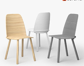 Muuto Nerd Chair 3D