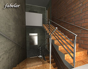 3D model Stairs