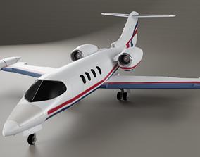 3D Learjet 35 36