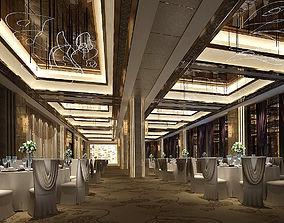 Business Restaurant - Coffee - Banquet 14 3D