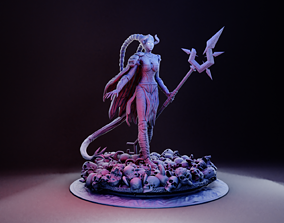 infernal deva 3D print model