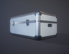 Metal Case 3D model animated
