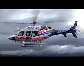 3D Bell 429 Mercy Flight