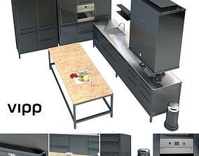3D Vipp kitchen