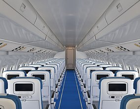 3D asset Airplane Cabin