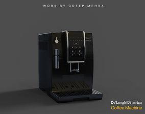 3D model De Longhi Cup Coffee Machine