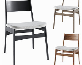 3D Baltimore dining chair West Elm